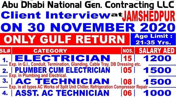 Abu Dhabi National Gen. Contracting LLC