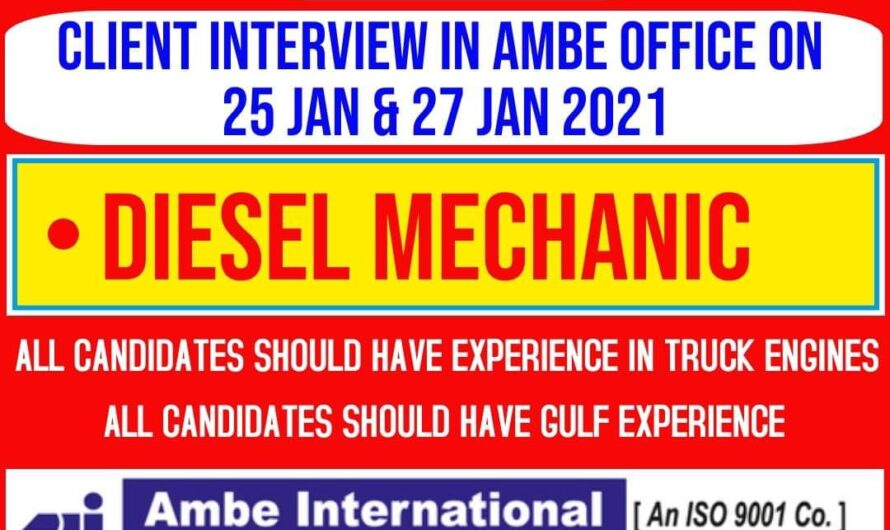 REQUIRED FOR A OIL CIVIL BAHRAIN