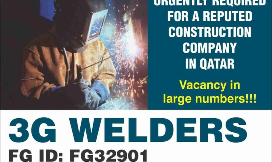 URGENTLY REQUIRED FOR A REPUTED CONSTRUCTION COMPANY IN QATAR
